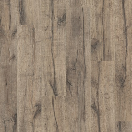 Dark grey Perspective Wide Laminate Reclaimed oak brown ULW1545
